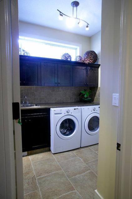 Traditional Laundry Room by Kirby Maronda