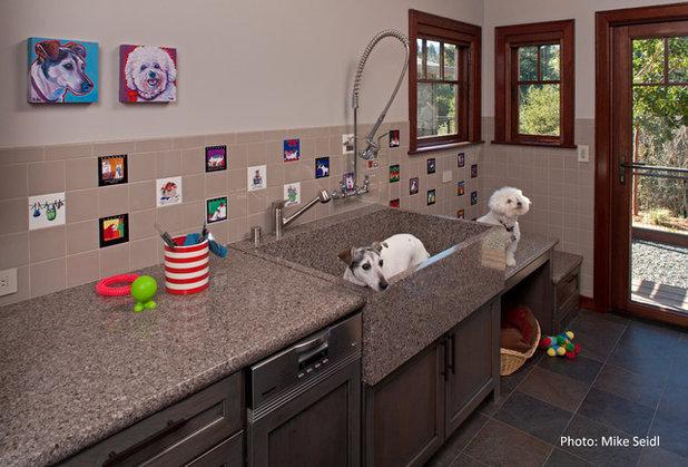 Contemporary Laundry Room by Designs Dell'Ario Interiors