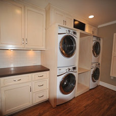 Traditional Laundry Room by Skyline Kitchen & Bath