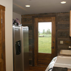 Traditional Laundry Room by Legends West Reclaimed Lumber