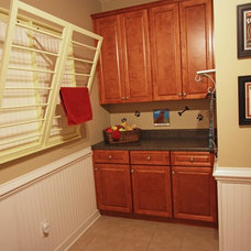 Traditional Laundry Room by Sara Ballinger - 1130 Creative, LLC