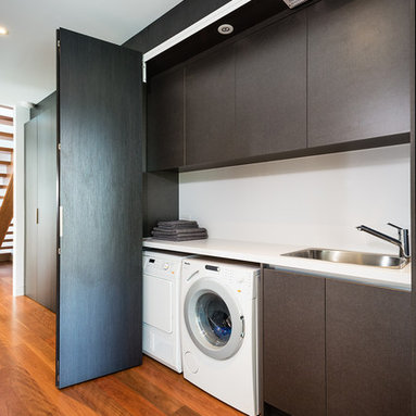 Modern Small Kitchen Laundry Room Design Ideas, Pictures, Remodel and Decor