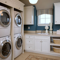 Traditional Laundry Room by Eskuche Design