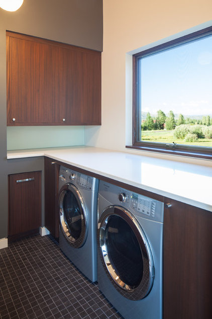 Contemporary Laundry Room by Prugh Real Estate LLC