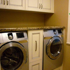 Traditional Laundry Room by Christine Austin Design