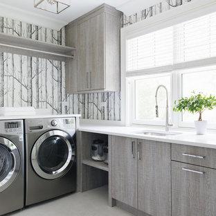 Exempel på en klassisk tvättstuga