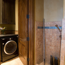 Traditional Laundry Room by DesignWorks Development