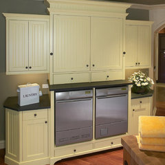 traditional laundry room by Clarke
