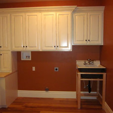 Traditional Laundry Room by Carpenter's Mill LLC