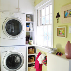 Eclectic Laundry Room Young House Love laundry room