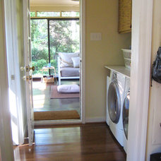 Traditional Laundry Room by Young House Love