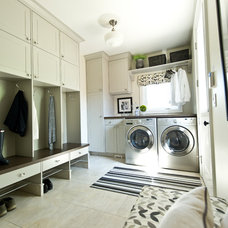 Traditional Laundry Room by Maison Fine Homes & Interior Design