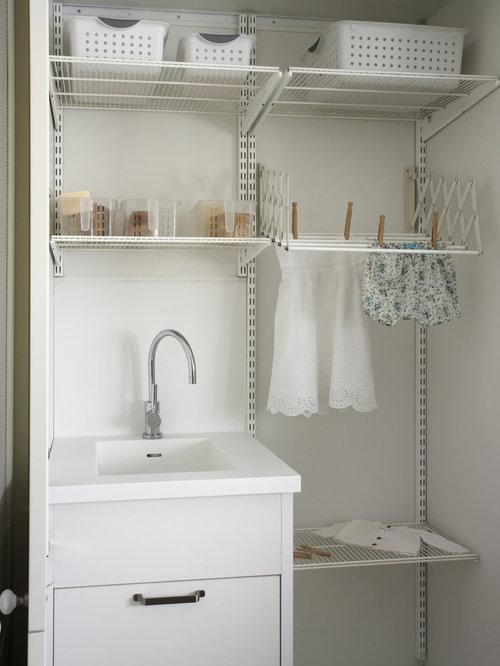 Fotos de lavaderos dise os de cuartos de lavado peque os for Cuartos lavaderos