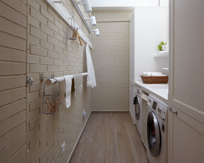 Industrial Laundry Room by deulonder arquitectura doméstica