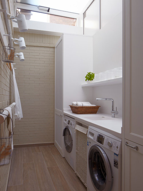 Industrial Laundry Room Design Ideas Remodels Amp Photos