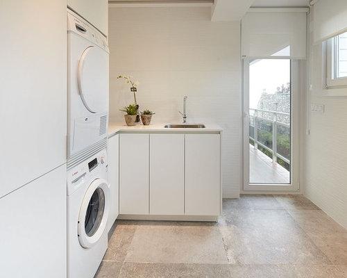 moderner hauswirtschaftsraum in spanien ideen f r waschk che haushaltsraum. Black Bedroom Furniture Sets. Home Design Ideas