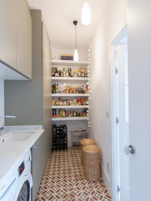Fotos de lavaderos dise os de lavaderos con paredes blancas Lavadero ceramica