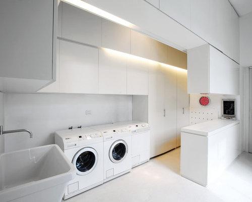 Foto e idee per lavanderie lavanderia for Piani di camera di lavanderia