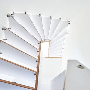 Foto di una scala scandinava