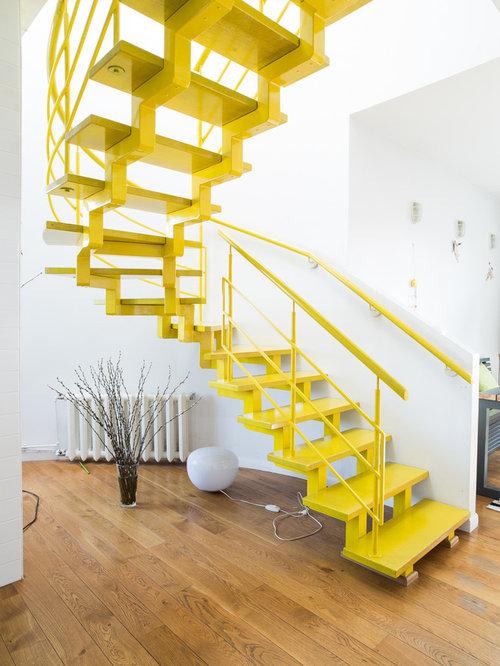 Fotos de escaleras dise os de escaleras sin contrahuella for Contrahuella escalera