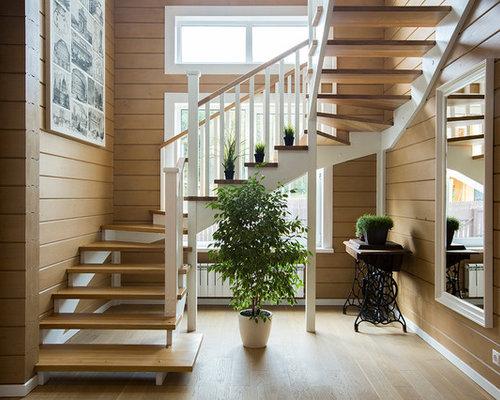 photos et id es d co d 39 escaliers claire voie campagne. Black Bedroom Furniture Sets. Home Design Ideas