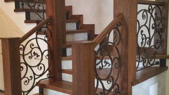 Эксклюзивная лестница на заказ
