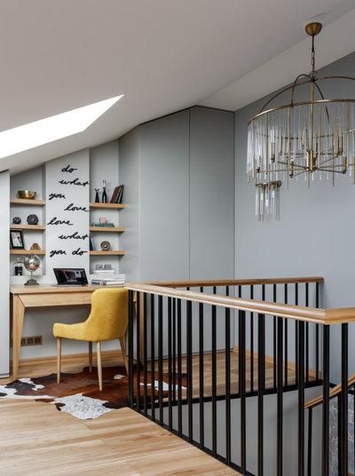 Современный Лестница by KLЯksa-design