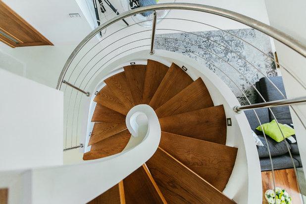 Современный Лестница by EgoDesign