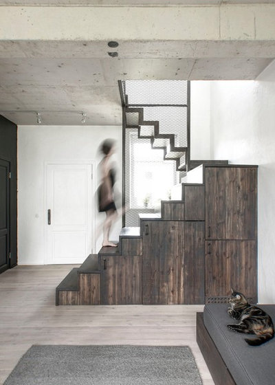 Industrial Staircase by INT2architecture