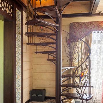 Интерьер гостевого дома с баней в Нижегородской области