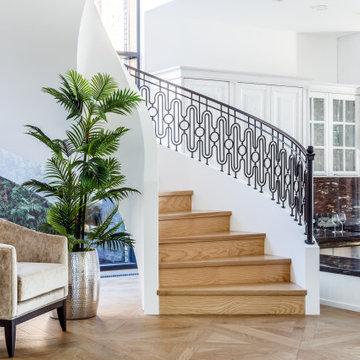 Интерьер лестниц фото