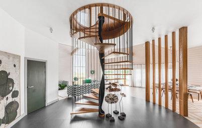 Как выбрать: Красивое ограждение для лестницы в частном доме
