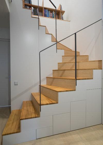 Современный Лестница by background