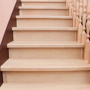 Лестница из березы