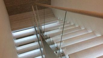 Лестница с интелектуальной подсветкой