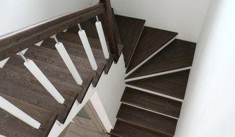 Отделка бетонной лестницы 2