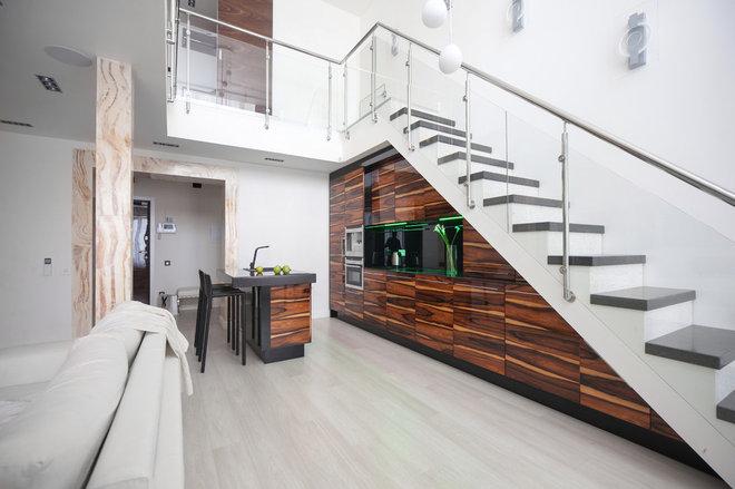 Современный Лестница by Студия Дизайна Архитектура Интерьера AI