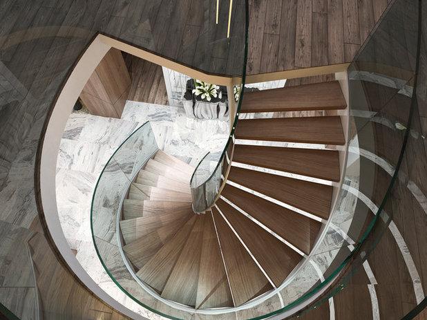 Современный Лестница by Mercury forge