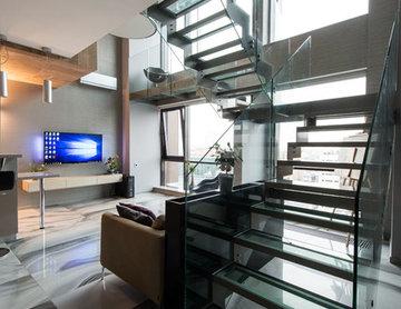 Современный Лестница