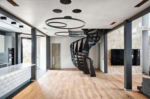 Современный Лестница by Константин Никифоров (812 studio)