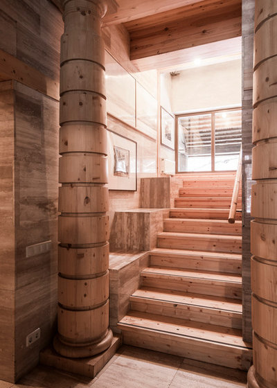 Современный Лестница by Дина Александрова