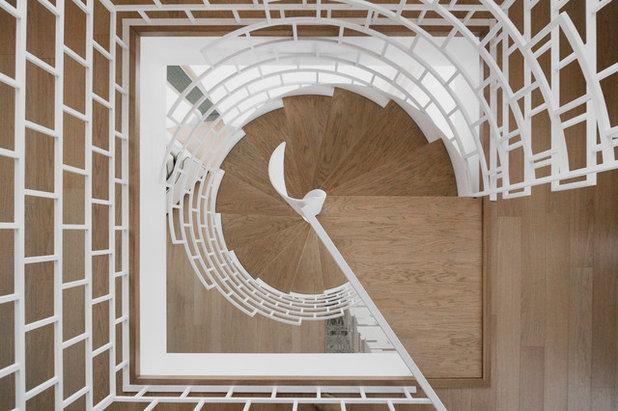 Современный Лестница by АЛЕКСАНДРА СЕРГЕЕВА | NOTUMPROJECT