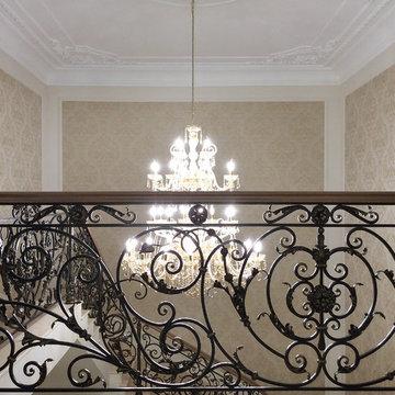 Загородный Дом в Подмосковье, классический интерьер