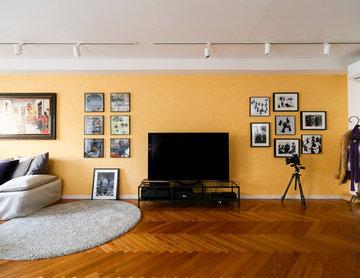 フォトスタジオも、プライベートギャラリーも、部屋全体でアートを楽しむ住まい