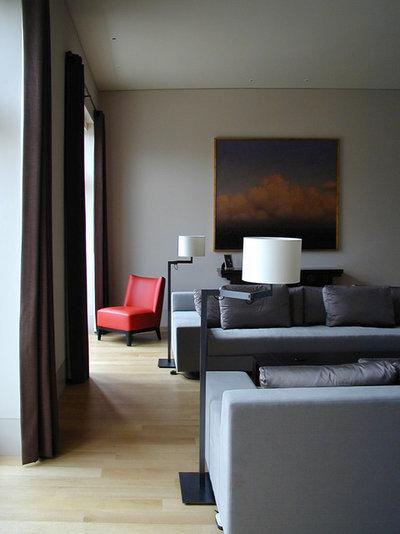Japanisch Wohnbereich by 澤山乃莉子デザイン NSDA LONDON