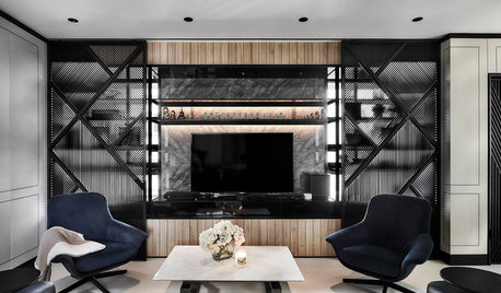 Houzz Tour: This Art Deco-Inspired Home Embraces Its Bay Windows