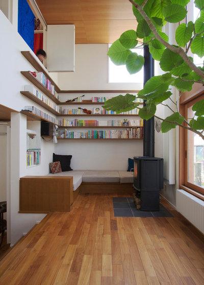 Asian Living Room by 長浜信幸建築設計事務所