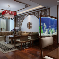 Asian Living Room by 空空