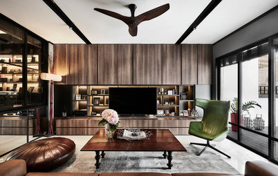 Houzz Tour: Touches of Walnut Add Warmth to This Family Terrace