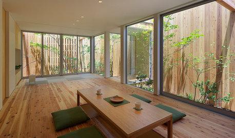 リビング・ダイニングの「座卓」が新鮮な現代住宅6選
